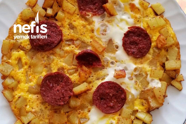 Kahvaltılık Patates Pizzası 2