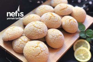 Limonlu Kurabiye (Margarin Yok) Tarifi
