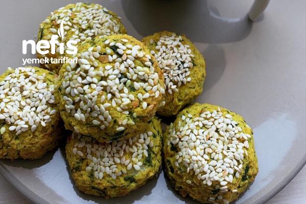 Peynir Dolgulu Fırında Falafel Tarifi