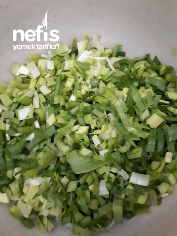 Pırasalı Sebzeli Omlet