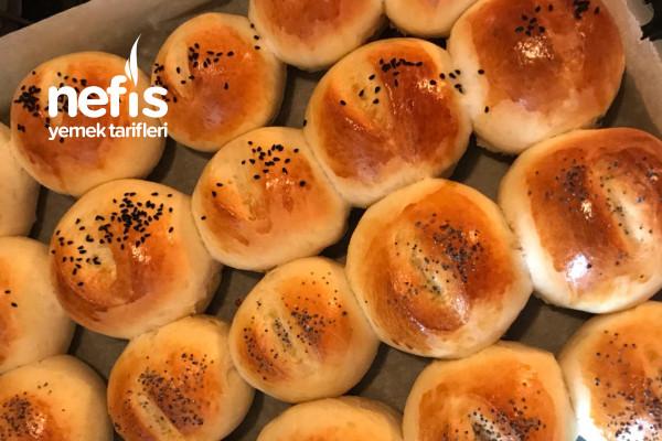 Poğaça Gibi Yumuşacık Roll Ekmek Tarifi