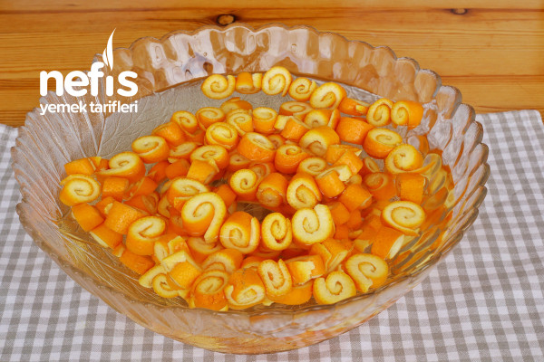 Portakal Kabuğu Reçeli Yapımı