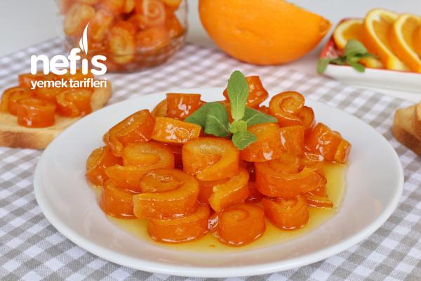 Portakal Kabuğu Reçeli Yapımı (videolu)