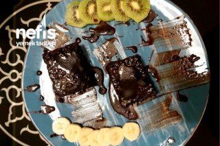 Brownie Tadında Portakallı Islak Kek Tarifi