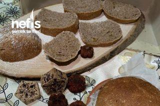 Tam Buğday Unlu Cevizli Ekmek Tarifi