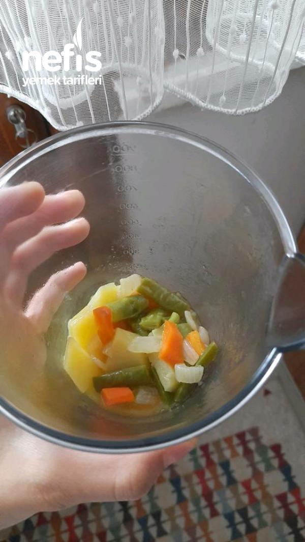 Taze Fasulye Çorbası +7