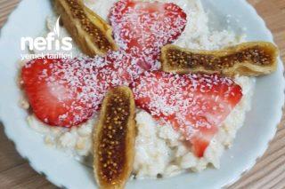 Yulaf Lapası(Sağlıklı Kahvaltı) Tarifi