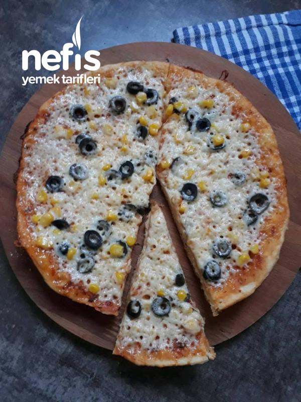 10 Dk Hazır Pizza (Mayalama Yok,lezzet Çok)