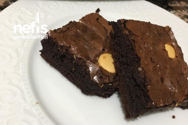 Beyaz Cikolatali Browni