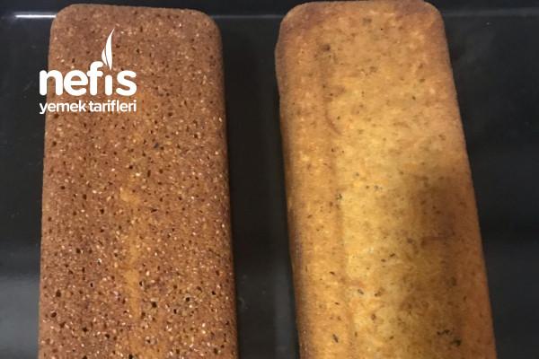 Bir Hamurdan İki Kek (Tahinli Susamlı Cevizli Ve Cevizli Havuçlu Tarçınlı) Tarifi