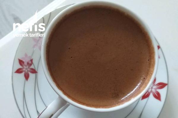 Çikolatalı Türk Kahvesi Tarifi