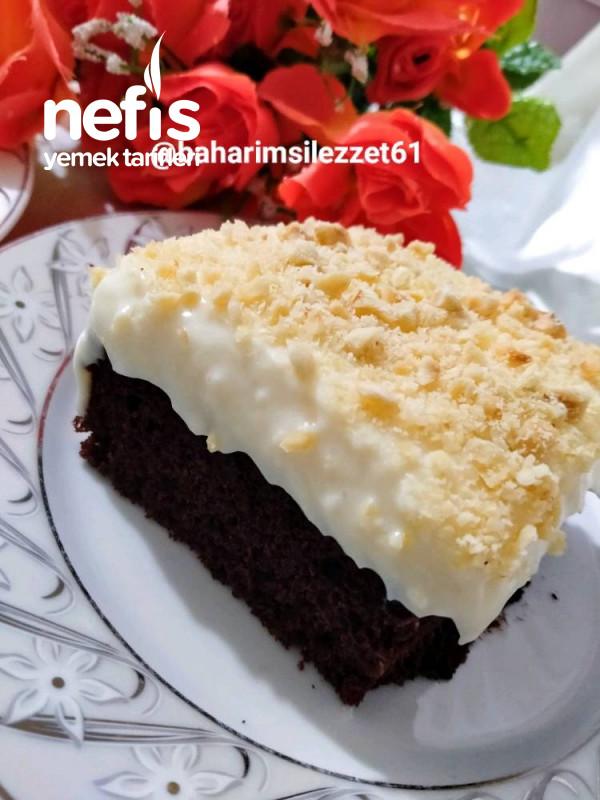 Fındıklı Muhallebili Pasta aşırı Lezzetli