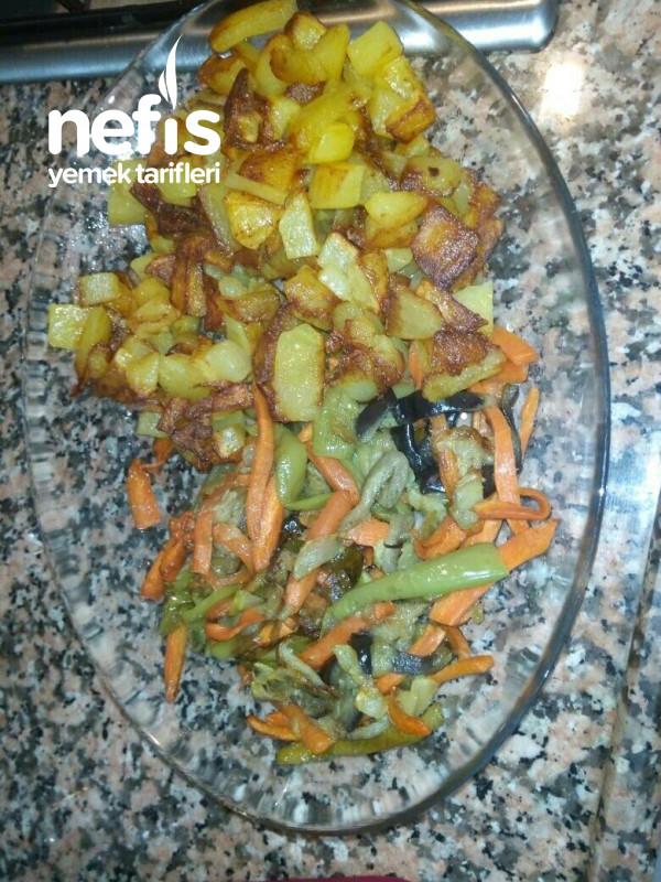 Karışık Sebze Kızartması