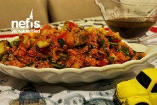 Kinoalı Kısır Salatası Tarifi