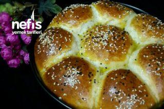 Puf Puf Çiçek Ekmek Tarifi