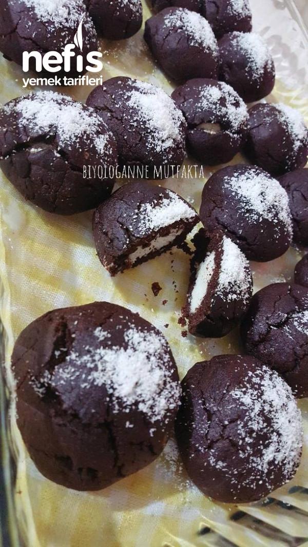 Süpriz Islak Kurabiye( Cocostar Brownie)