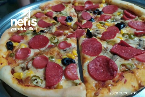 Tarif İsteten Pizza Tarifi