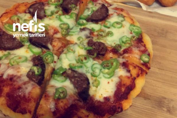 Tavada Harika Pizza Tarifi