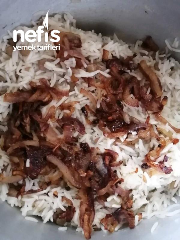 Yeşil Mercimekli Pirinç Pilavı
