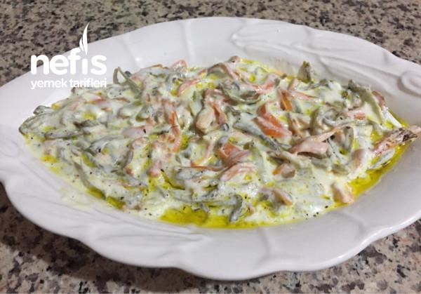 Yoğurtlu Brokoli Ve Havuç Kızartması