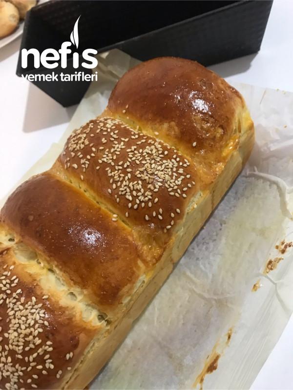 Yumoş Yumoş Yeni Bir Ekmek Tangzhong Japon Ekmeği