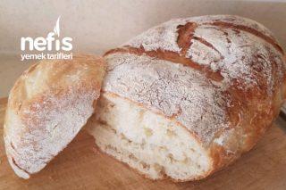 Dışı Çıtır İçi Yumuşacık Ekmek (Çook Basit Ama Lezzetli) Tarifi