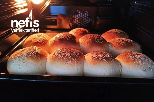 Hazırından Farksız Hamburger Ekmeği