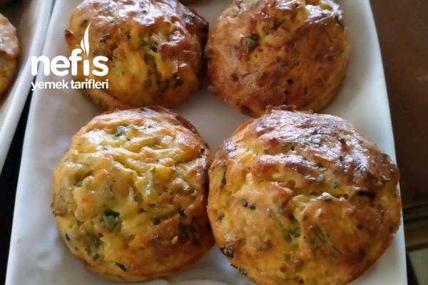 Patatesli Havuçlu Bereketli Muffin Tarifi