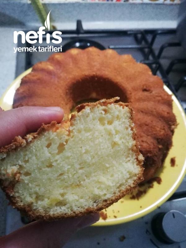 Sıvı Kremalı Limonlu Kek