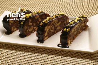 Sıvı Kremalı Mozaik Pasta Tarifi