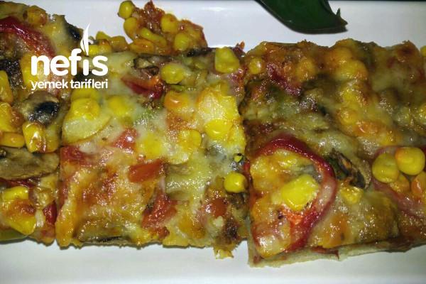 Tepside Lezzetli Pizza Tarifi