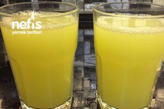 Yaz İçin Doğal Limonata Tarifi