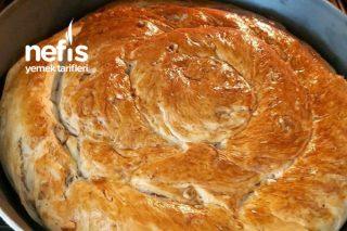 Cevizli Ekmek(oklavasız Zahmetsiz 5dakikada yap fırına ver) Tarifi