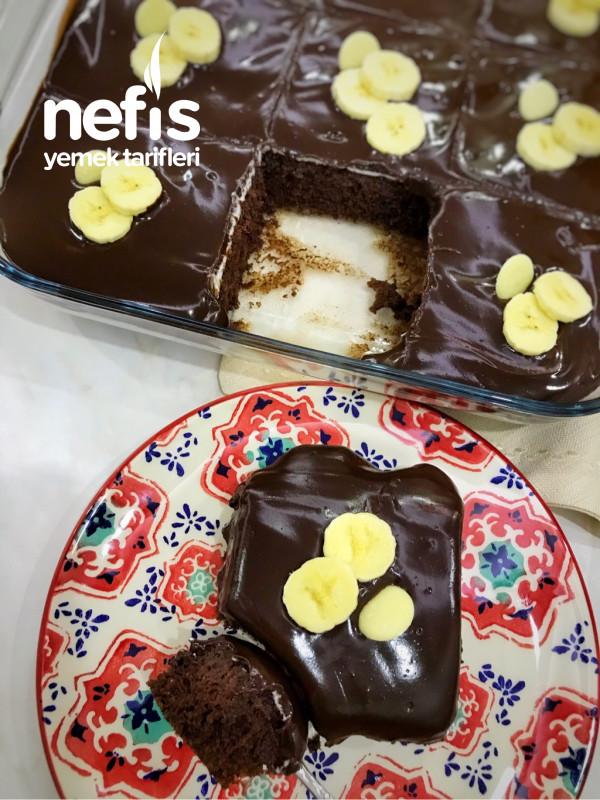 Çikolatalı Pasta (Evde Olan Malzemelerle)