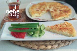 Kahvaltıya Az Malzemeli Patates Tava Tarifi