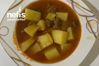 Klasik Etli Patates Tarifi