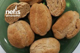 Nohut Mayalı Tam Buğdaylı Mini Ekmek Tarifi