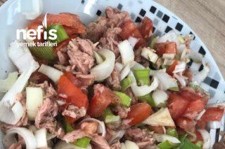 Pratik Ton Balıklı Salata Tarifi