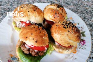 Shot Burger Ekmeği (Mini Hamburger) Tarifi