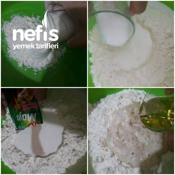 Yeşil Mercimekli Çörek