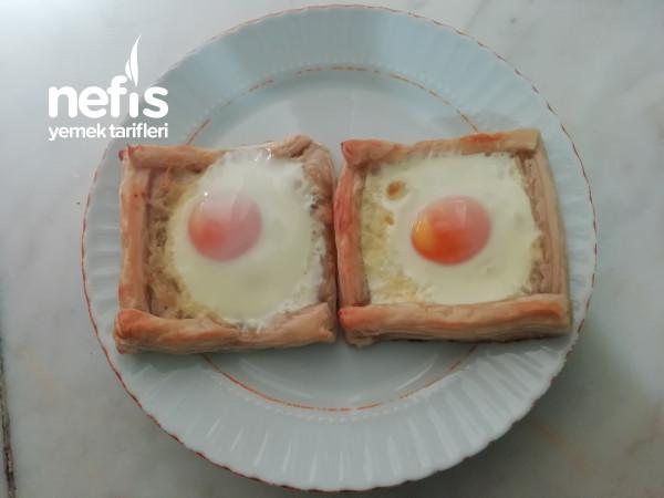 Yumurtalı Milföy (Sabah Kahvaltısına)