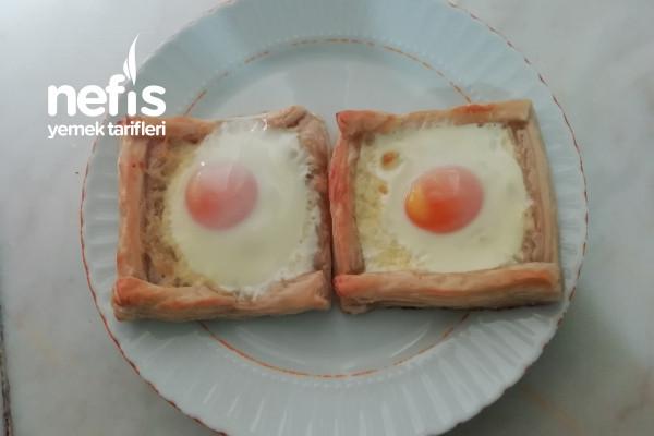 Yumurtalı Milföy (Sabah Kahvaltısına) Tarifi