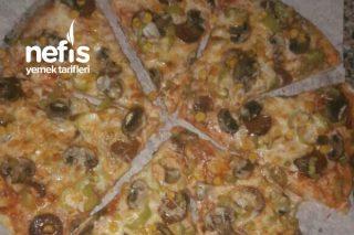 Ekmek Hamurundan Pizza Tarifi