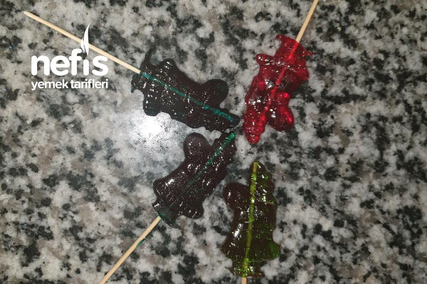 Horoz Şekeri (Yeni Yıl Temalı) Tarifi