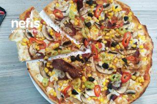 Orta Boy Pizza Tarifi