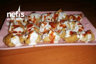 Patates Mantısı (Milföy Hamurlu) Tarifi