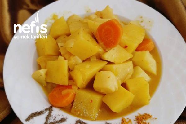 Patatesli Kereviz Yemeği Tarifi