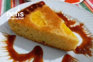 Portakallı Ters Yüz Kek Tarifi