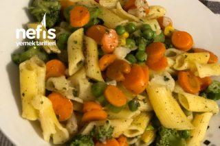 Sebzeli Makarna (Brokoli Vs) Tarifi