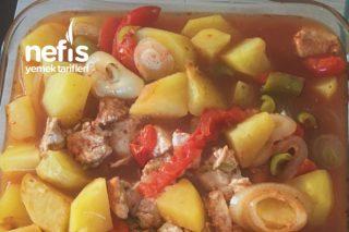 Fırın Torbasında Sebzeli Tavuk Döş Tarifi